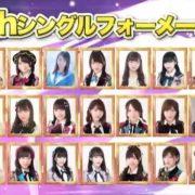 【速報】AKB48 54thシングル「NO WAY MAN」選抜メンバー発表!センターは宮脇咲良!松井珠理奈は選ばれず・・・【SKE48/NMB48/HKT48/NGT48/STU48/チーム8】